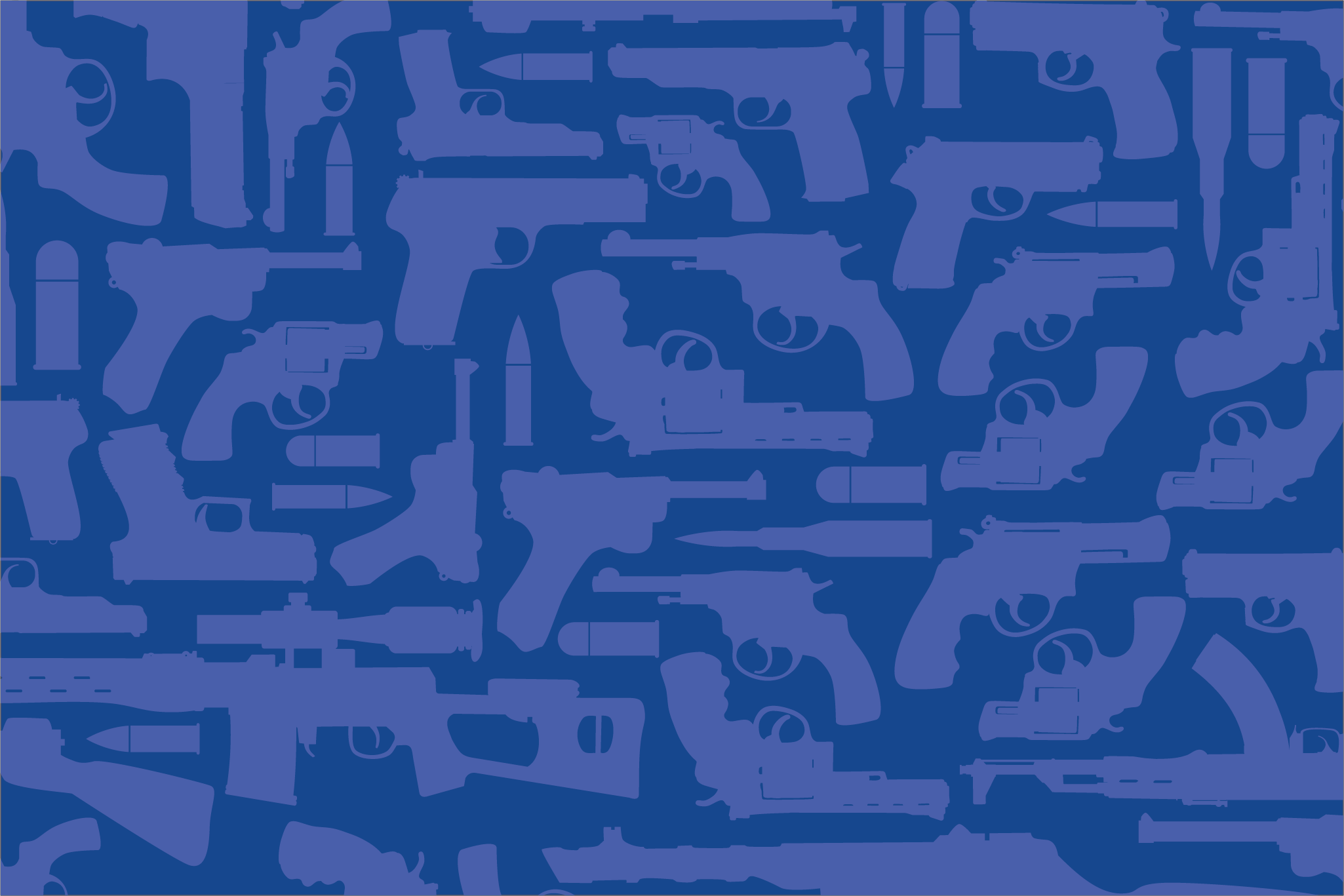 Blue Guns Background