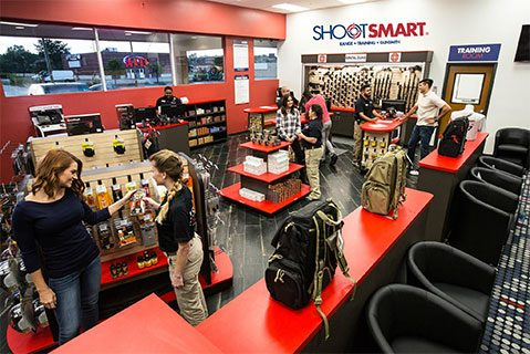 Firearm Store Shopping Image
