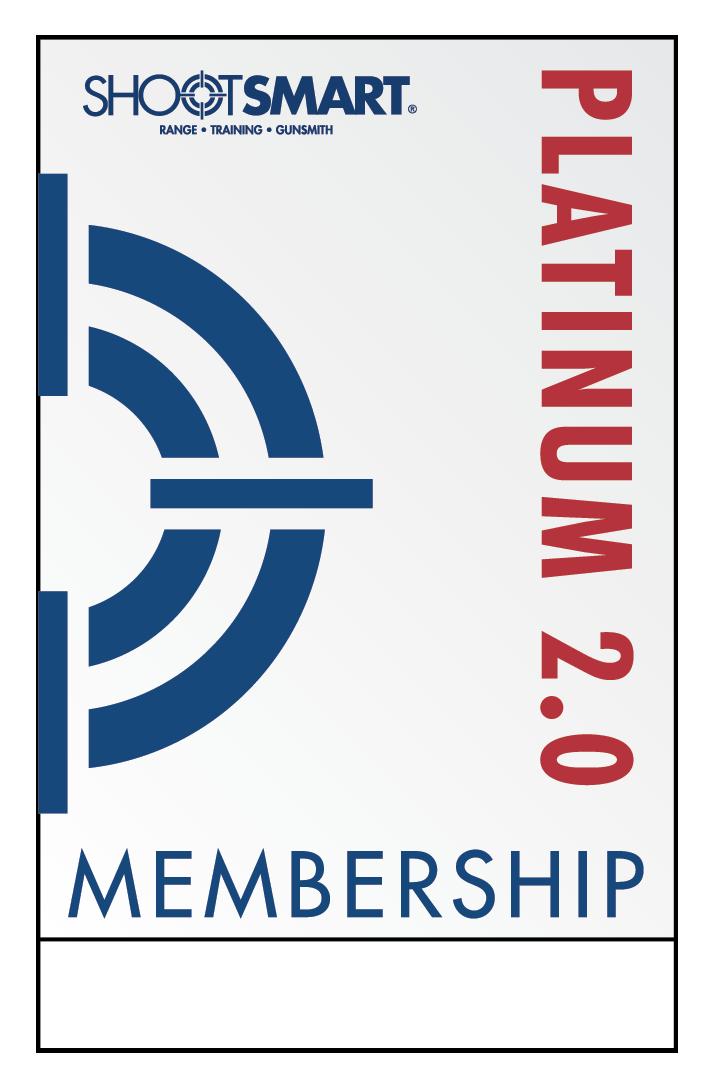 Platinum membership card platinum